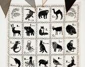 Animal Alphabet Tapestry
