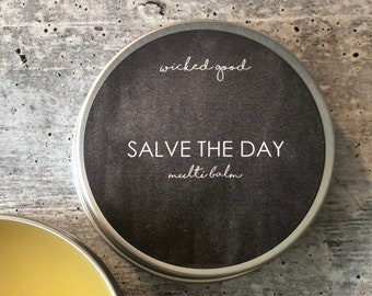 Salve The Day Multi Balm | Balms Salves | Herbal Moisturizer | Promotes Skin Healing | Protection Barrier | Sensitive Skin, Dry Skin