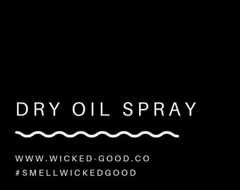 Dry Oil Spray