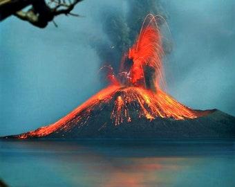Volcano, Capri Blue Type