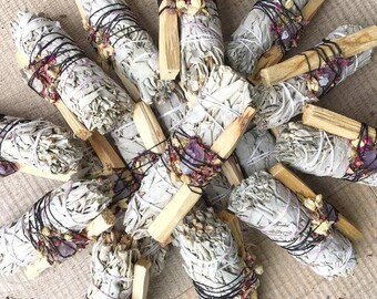 Smudge, Liquid Smudging, White Sage Spray, Cleansing & Clearing, Combat Negativity, Air Energy Crystals, Start Anew, Smokeless Mist