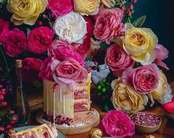 Love, Perfume Oil Spray, Scent Fragrance, Romantic, Love Spell, Gift Girlfriend, Body Mist, Cruelty Free Vegan, Fresh, Cherry Blossom, Peach