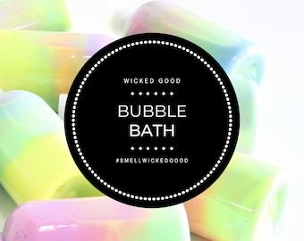Bubble Bath • Personalized Bubble Bath • Bubble Bath •  Best Body Bubble Bath 2020 • Everyday Selfcare • 375 Scents