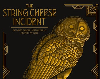 The String Cheese Incident | Port Chester, NY | 18x24 Gigposter