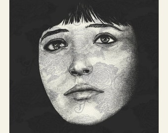 Ana Karina | 18x24 Screen Print