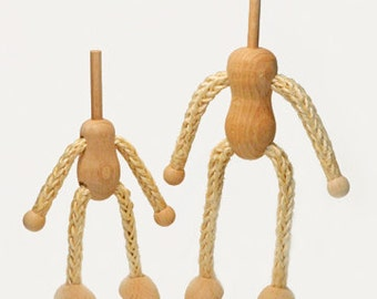 Headless Bendy Doll Bases for Dollhouse Dolls