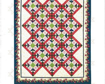 Around the Block Quilt Pattern from Jackie's Animas Quilts