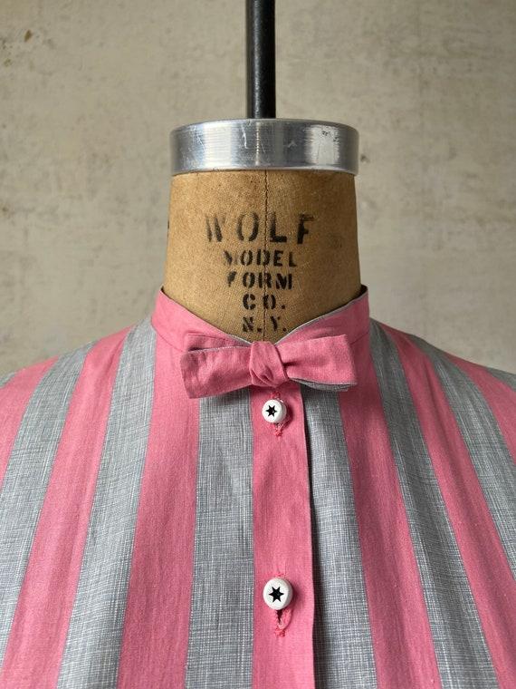 Vintage 50's Joan Miller Juniors Shirtwaist Dress… - image 4