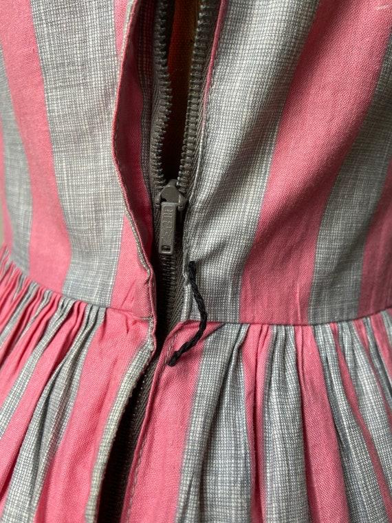 Vintage 50's Joan Miller Juniors Shirtwaist Dress… - image 8