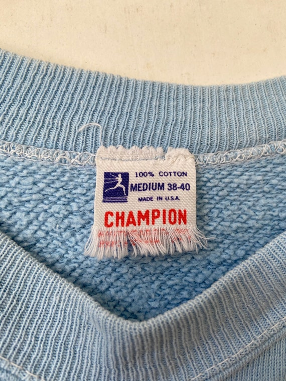 Vintage 50's Champion Running Man Penn State Floc… - image 4