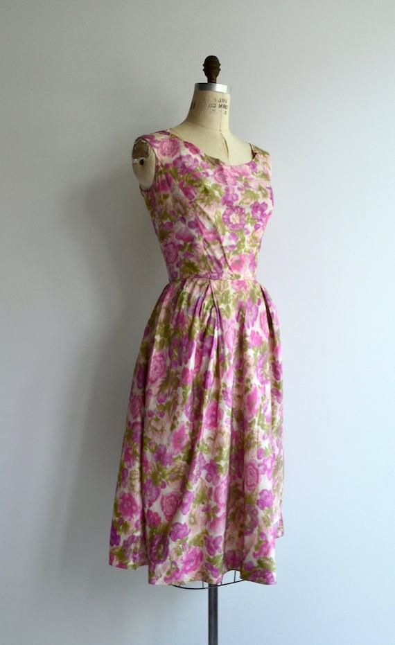 Melina floral dress | 1950s dress | floral 50s dr… - image 2