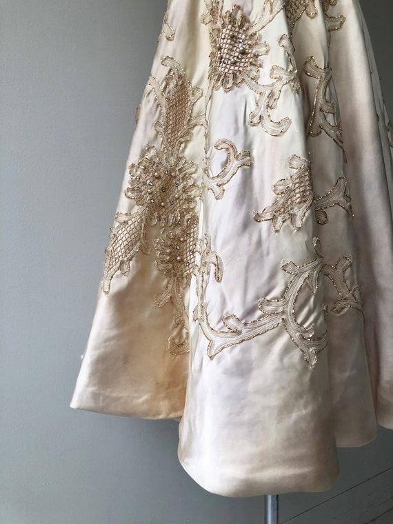 Ceil Chapman dress | 1950s designer dress | 50s p… - image 9