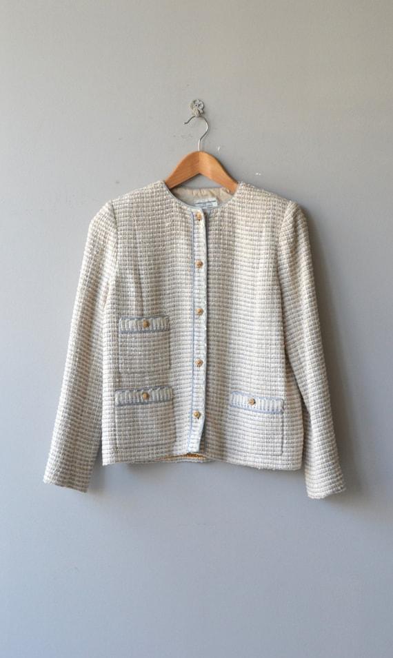 Chanel suit   vintage boucle jacket and skirt   v… - image 3