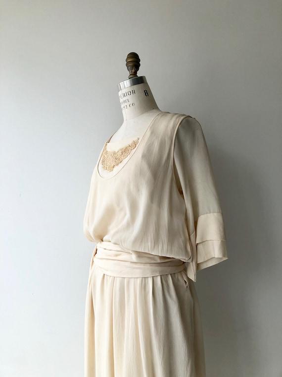 Elaria silk dress | 1920s wedding dress | antique… - image 7