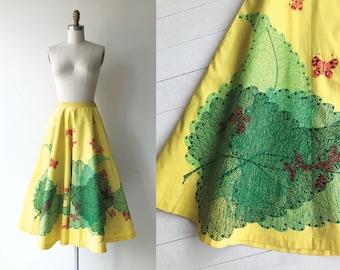 Broadleaf 1950s circle skirt | vintage 50s skirt | 50s full skirt