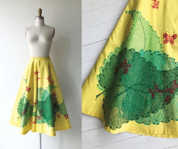 Broadleaf 1950s circle skirt | vintage 50s skirt |