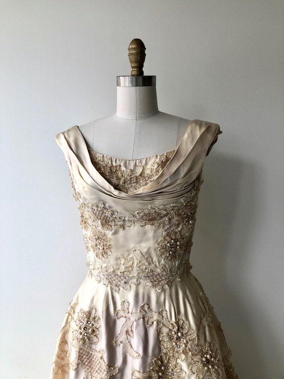 Ceil Chapman dress | 1950s designer dress | 50s p… - image 3