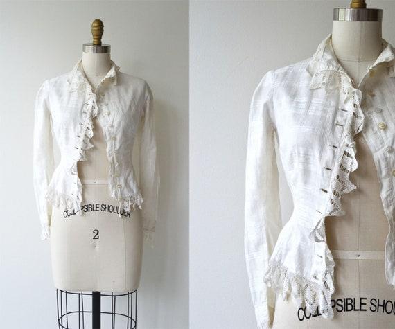 Leworth Villa blouse | antique Victorian blouse |