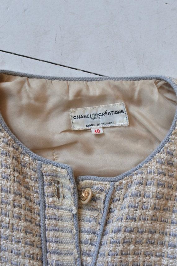 Chanel suit   vintage boucle jacket and skirt   v… - image 2