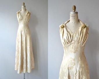 Coup de Foudre wedding gown | vintage 1930s wedding dress | deco 30s wedding dress