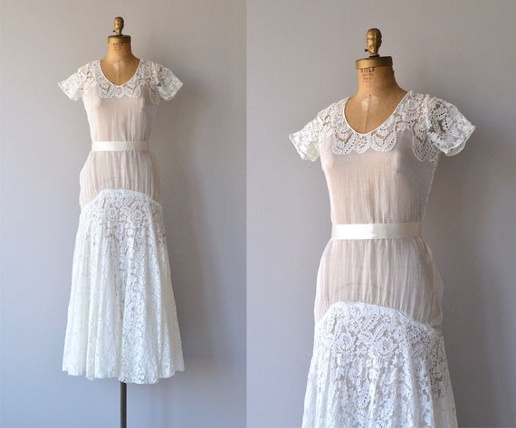 Lyall wedding gown | 1930s wedding dress | lace 30