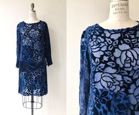 Mood Indigo velvet dress | 1920s velvet dress | vi
