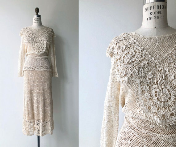 Annuzia crochet dress | crochet sweater and skirt