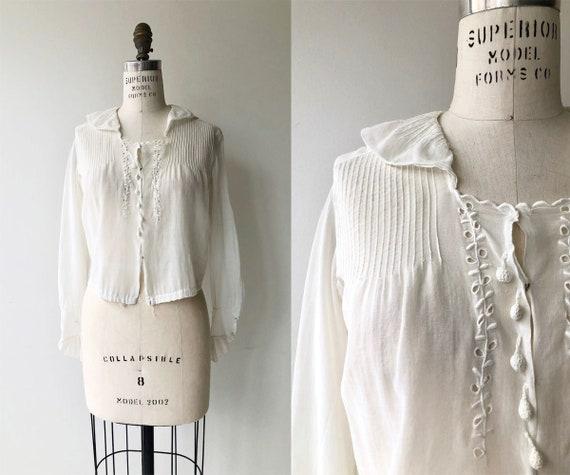 Ashton Trellis blouse | 1910s blouse | Edwardian w