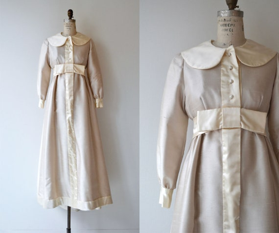 Penelope wedding gown | 1960s wedding dress | long