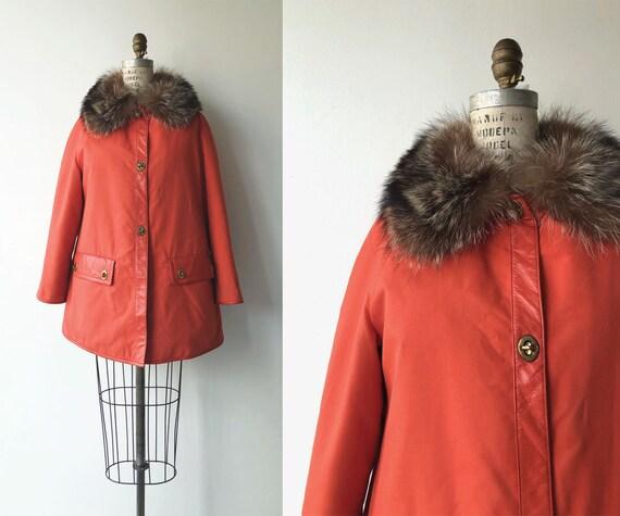 Bonnie Cashin leather and fur coat | vintage 1960s