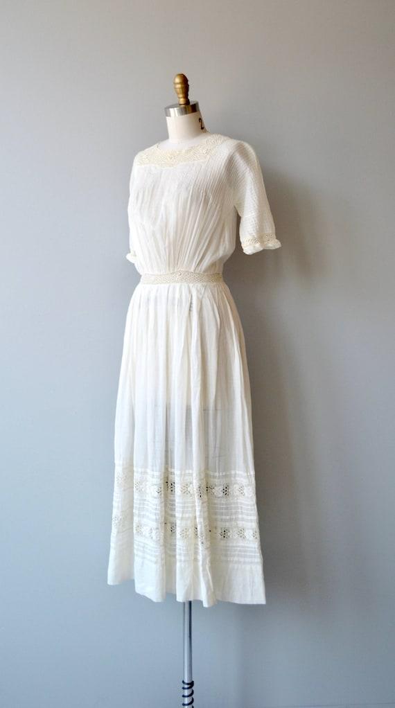 Mirfield Villa dress | 1910s cotton dress | antiq… - image 3