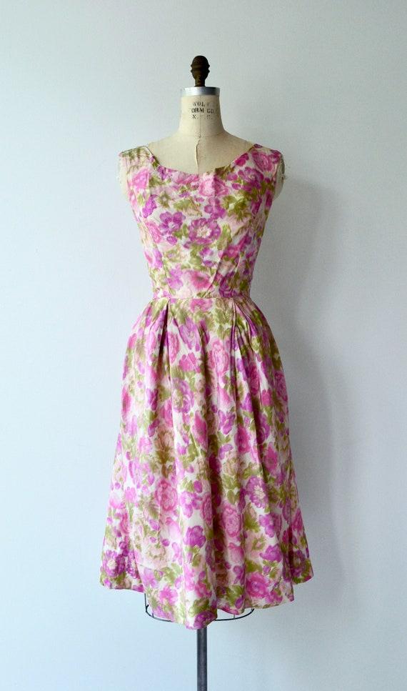 Melina floral dress | 1950s dress | floral 50s dr… - image 4