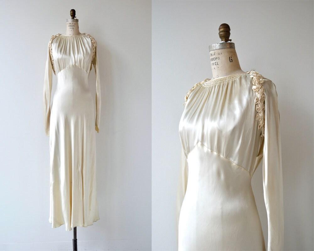 Prima Luce Brautkleid Jahrgang 1930 Brautkleid