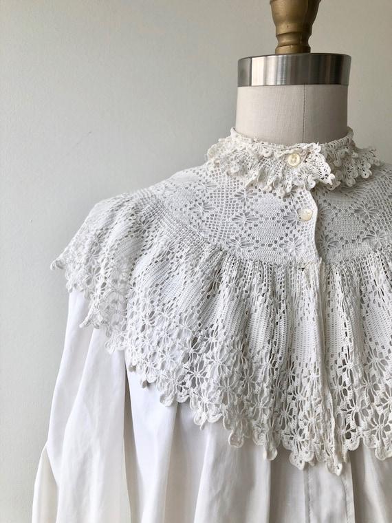 Tyndell cotton blouse | Victorian blouse | antiqu… - image 4