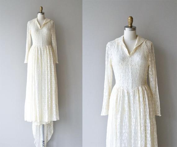 J'te Vous wedding gown | vintage 1940s wedding dre
