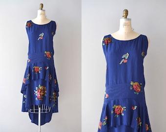 vintage 1920s dress / 1920s dress / Spirit Folly