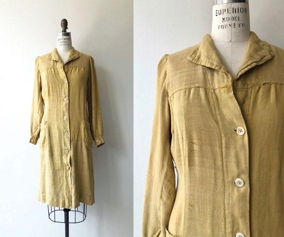 Dijon Linen chore jacket | 1920s workwear | 20s ch