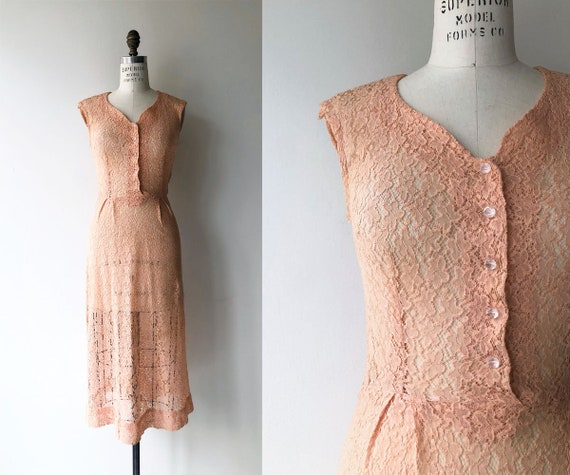 Fantaine lace dress | 1940s lace dress | vintage 4