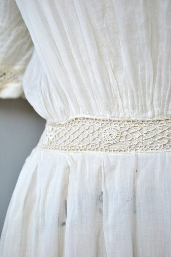 Mirfield Villa dress | 1910s cotton dress | antiq… - image 4