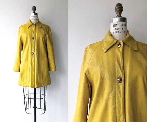 Bonnie Cashin coat   Cashin leather coat   1960s B