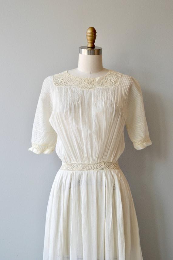 Mirfield Villa dress | 1910s cotton dress | antiq… - image 8