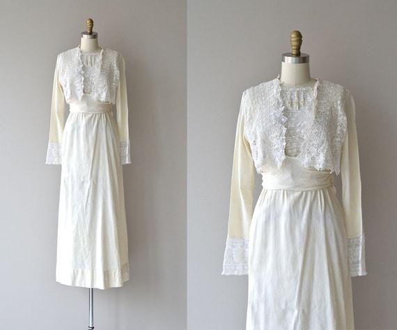 Rivington House dress   1910s lace wedding dress •