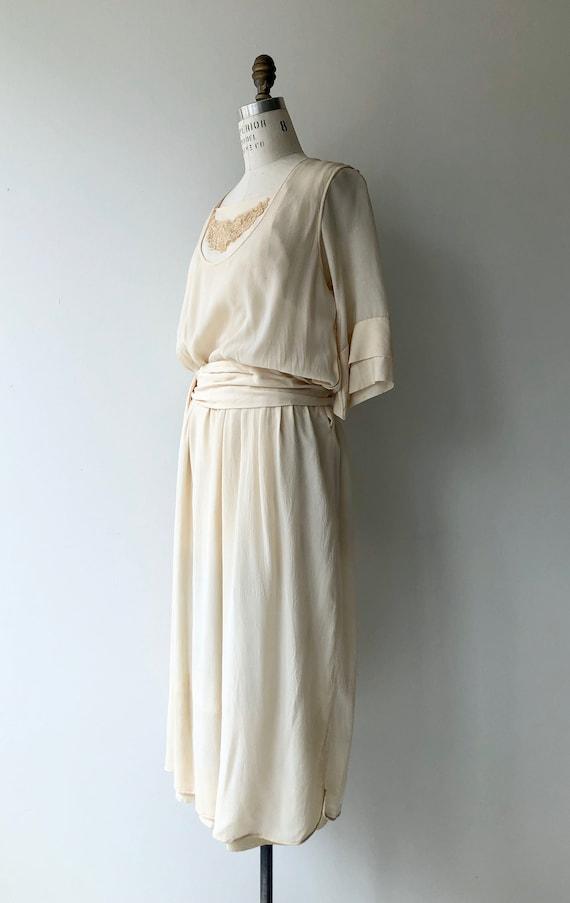 Elaria silk dress | 1920s wedding dress | antique… - image 6