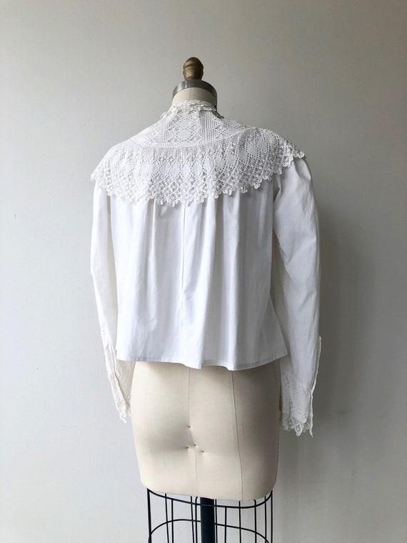 Tyndell cotton blouse | Victorian blouse | antiqu… - image 8