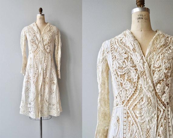 1910s Edwardian jacket | antique tape lace jacket