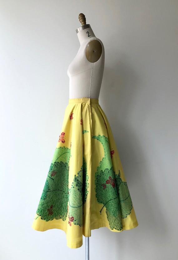 Broadleaf 1950s circle skirt | vintage 50s skirt … - image 5
