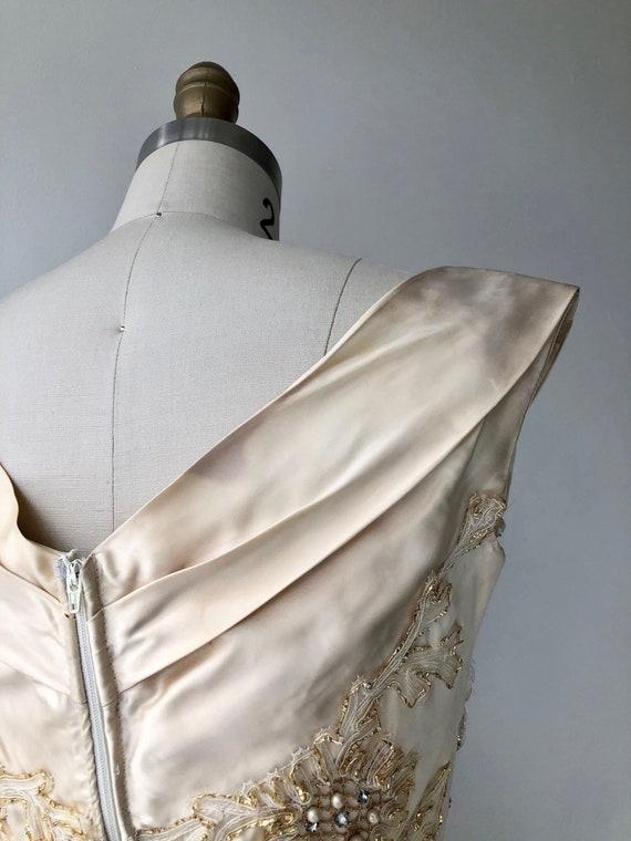 Ceil Chapman dress | 1950s designer dress | 50s p… - image 10