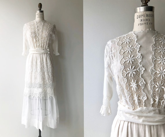 Edwardian 1910s Clewer Hill dress | Antique 1900s