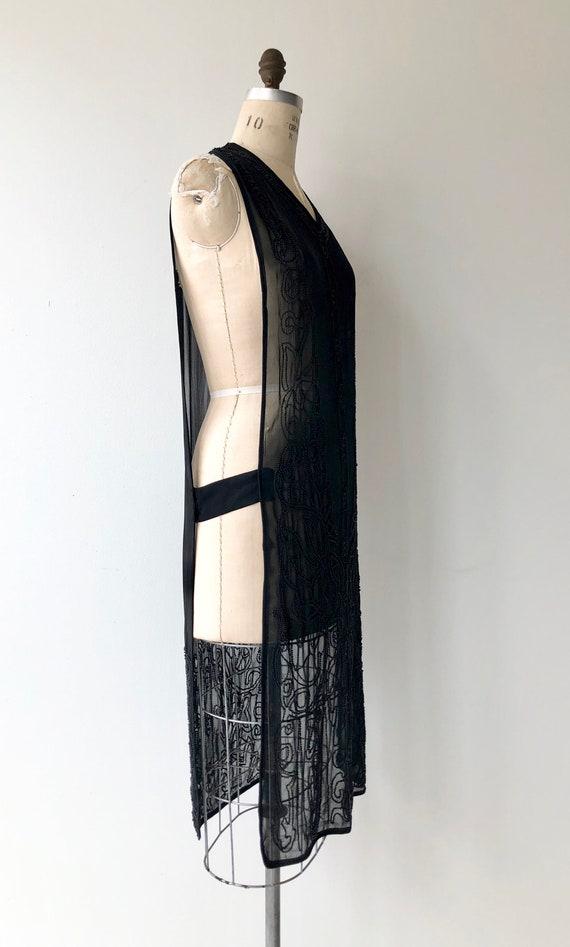Revival beaded silk tabard | 1920s beaded dress |… - image 2