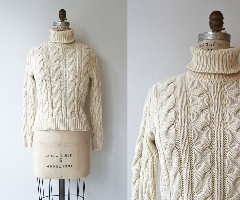 Ralph Lauren cable sweater  cotton cable knit sweater  image 0